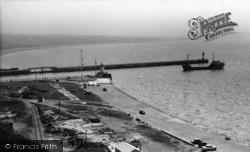 Newhaven, The Breakwater c.1960
