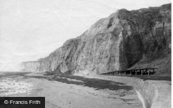 Newhaven, The Cliffs 1890