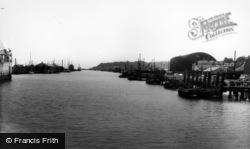 Newhaven, The Docks c.1960