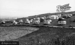 Newhaven, The Downland Caravan Site c.1960