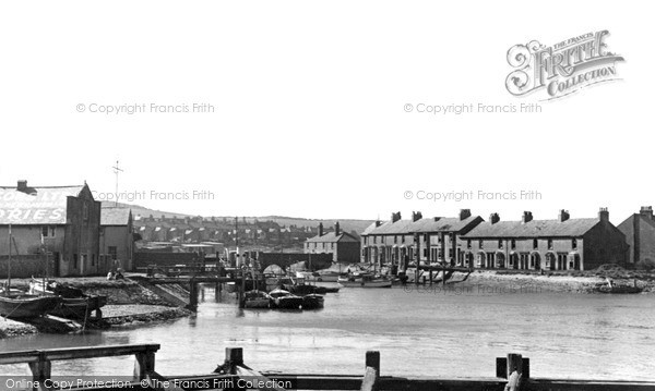 Newhaven, the Harbour c1950