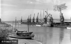 The Harbour c.1950, Newhaven