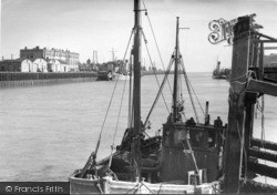 Newhaven, The Harbour From The Jetties c.1950