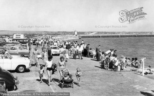 Photo of Newhaven, The Promenade c.1965
