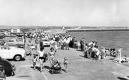 Newhaven, the Promenade c1965