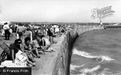 Newhaven, The Promenade c.1965