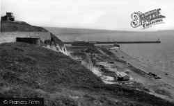 Newhaven, View From The Fort c.1960