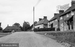Newick, Allington Crescent c.1955