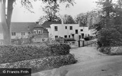 Newick, Church Close c.1960