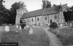 Newick, Church Of St Mary c.1960