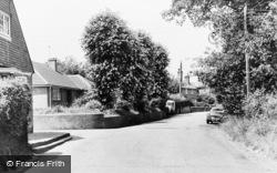Newick, Church Road c.1965