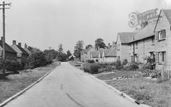 Newick, Cricket Field Road c.1960