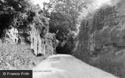 Newick, Sandy Hollow c.1955