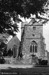 Newick, St Mary's Church c.1955