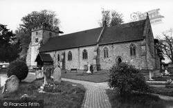 St Mary's Church c.1965, Newick