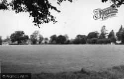The Cricket Ground c.1960, Newick