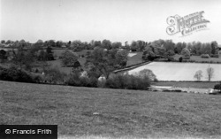 Newick, View From Font Hill c.1960