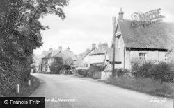 Newick, Western Road c.1955