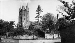 Newland, All Saints Church c.1955