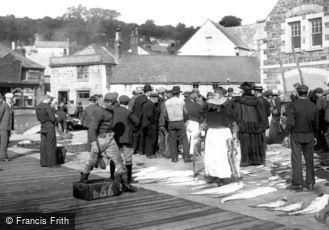 Newlyn, Fish Market 1906