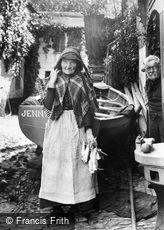Newlyn, Old Fisherwoman, Fanny Mathews 1906