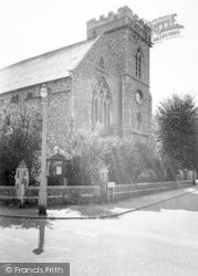 Newmarket, All Saints' Church c.1960