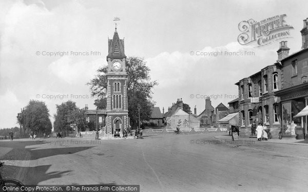 Photo of Newmarket, Clock Tower 1922