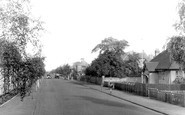 Newmarket, Exning Road and Hospital c1955