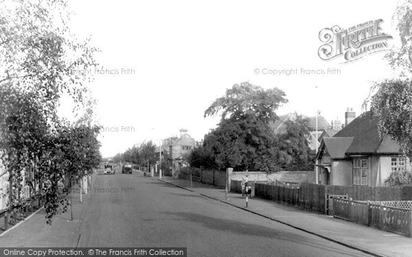 Photo of Newmarket, Exning Road and Hospital c1955