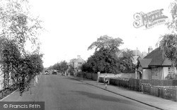 Newmarket, Exning Road And Hospital c.1955