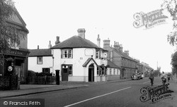 Newmarket, Exning Road And Post Office c.1955