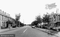 Newmarket, Exning Road c.1955