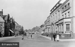 Newmarket, High Street 1922