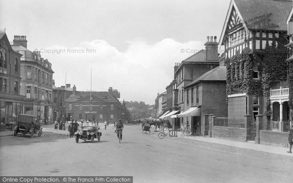 Photo of Newmarket, High Street 1922
