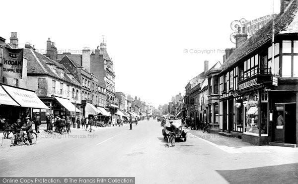 Newmarket, High Street 1929