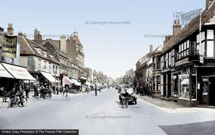 Photo of Newmarket, High Street 1929