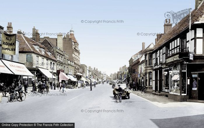 Photo of Newmarket, High Street 1929, ref. 81955t