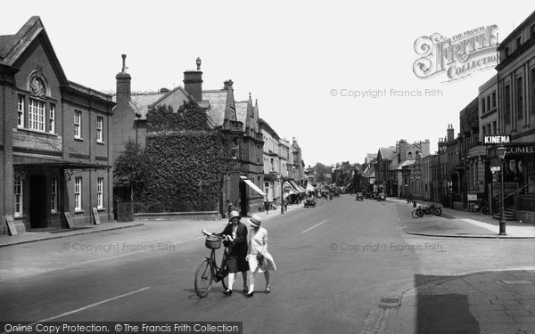 Photo of Newmarket, High Street 1929, ref. 81956