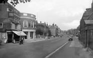 Newmarket, High Street 1938