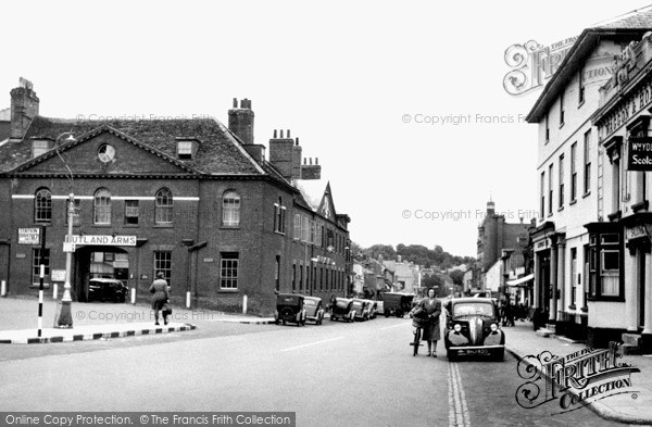 Photo of Newmarket, High Street c1955, ref. N23001