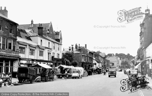 Photo of Newmarket, High Street c.1955, ref. 23003