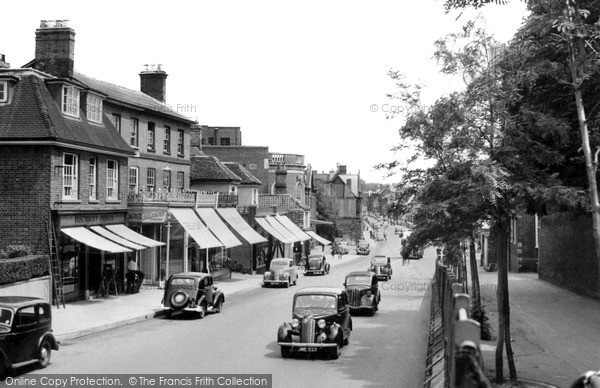Photo of Newmarket, High Street c.1955