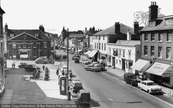 Photo of Newmarket, High Street c1960