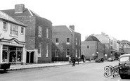 Newmarket, Jockey Club And The Post Office c.1955