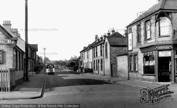 Photo of Newmarket, King Edward VII Road c1955