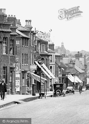 Newmarket, Terrace And High Street 1922
