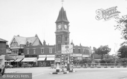 Newmarket, The Clock Tower c.1955