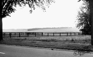 Newmarket, The Gallops, Bury-Side c.1955