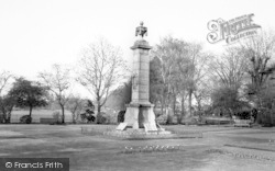 Newmarket, The Memorial c.1965