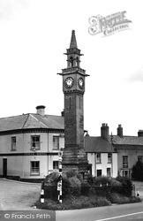 Newnham, Clock Tower c.1955
